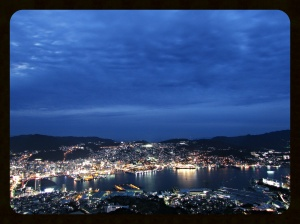 Nagasaki at night...