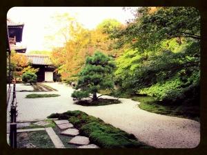 Zen garden in Nanzen-ji